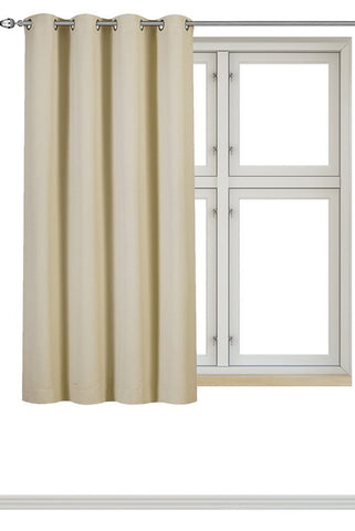 Blackout Room Darkening Curtains 1 Panel