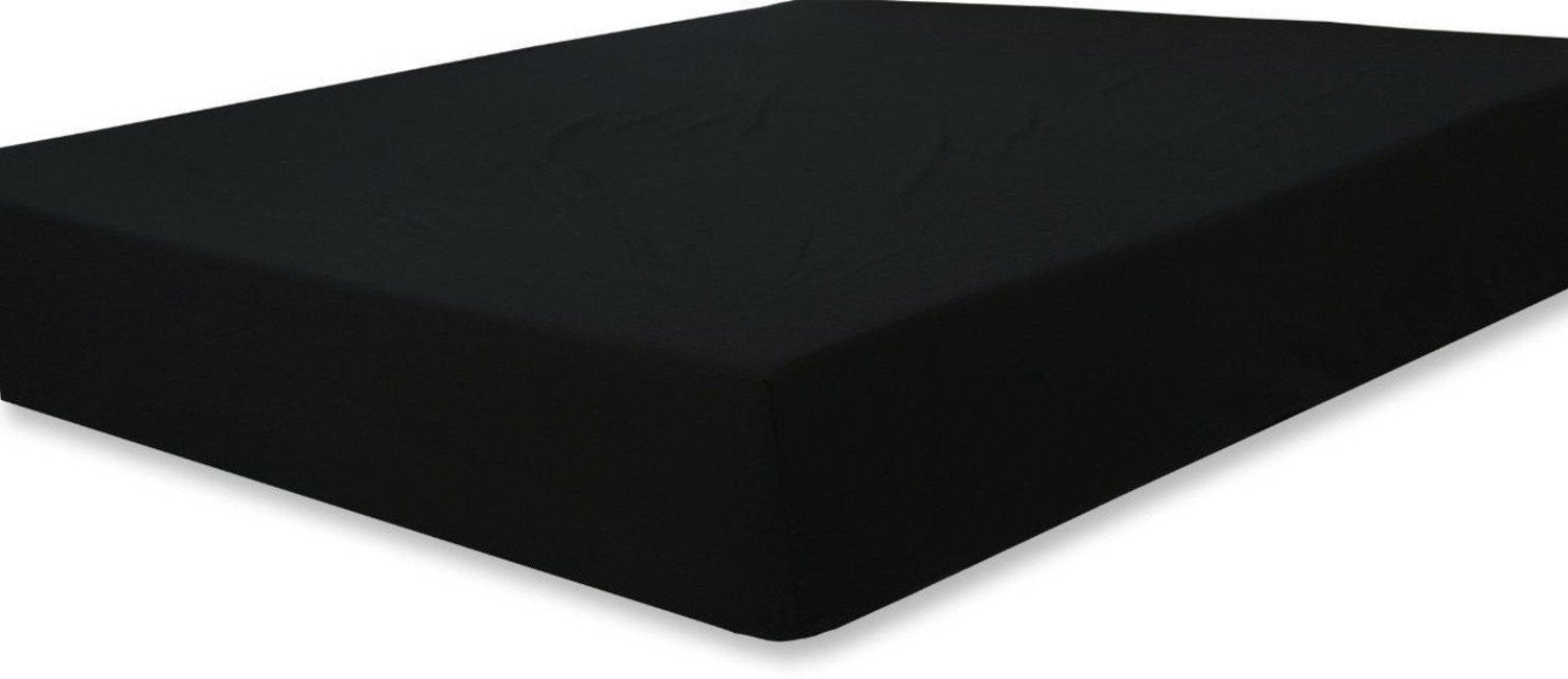 Fitted Sheet Microfiber (Black)
