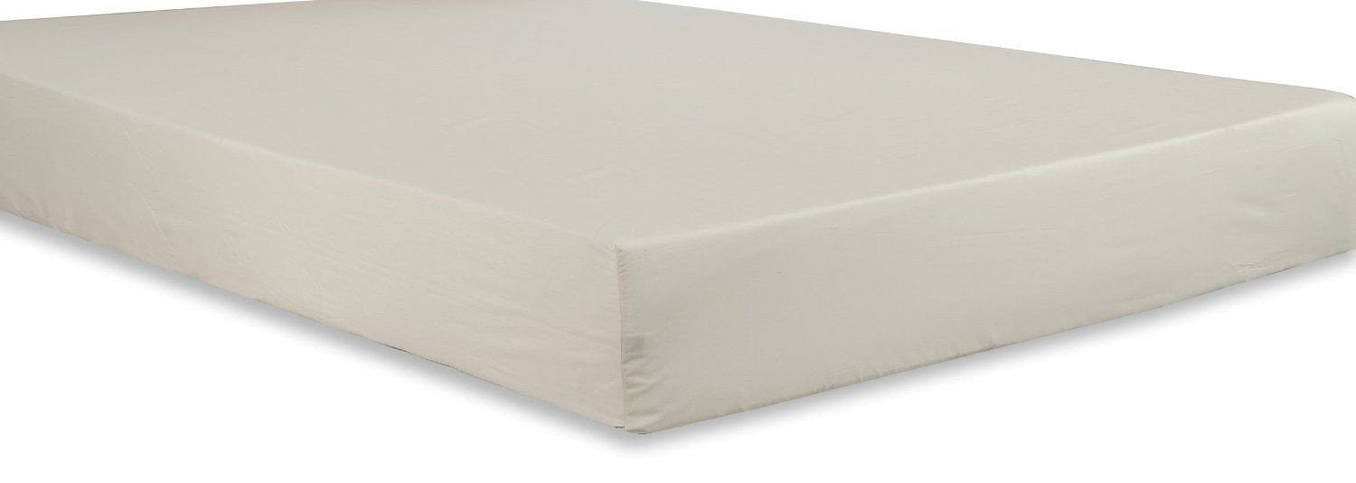 Cotton Sateen Fitted Sheet (Beige)