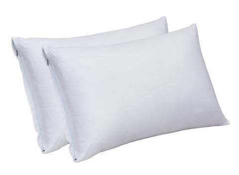 Bamboo Sateen Pillow Cases (White)