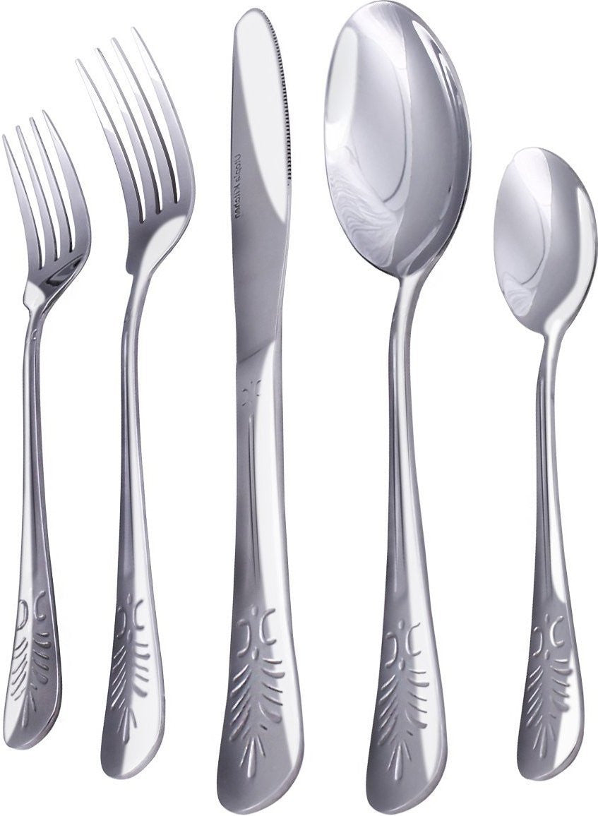 Stainless Steel Flatware Set-20 pieces