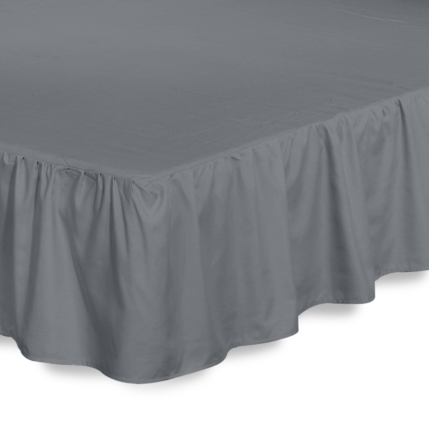 Ruffle Bed Skirt (Grey)