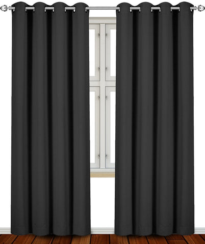 Blackout Room Darkening Curtains 2 Panel