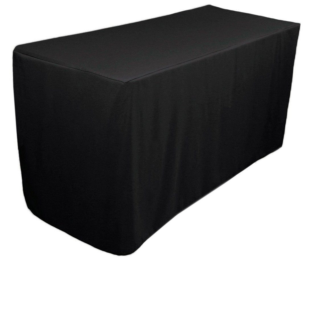 Fitted Tablecloths Black