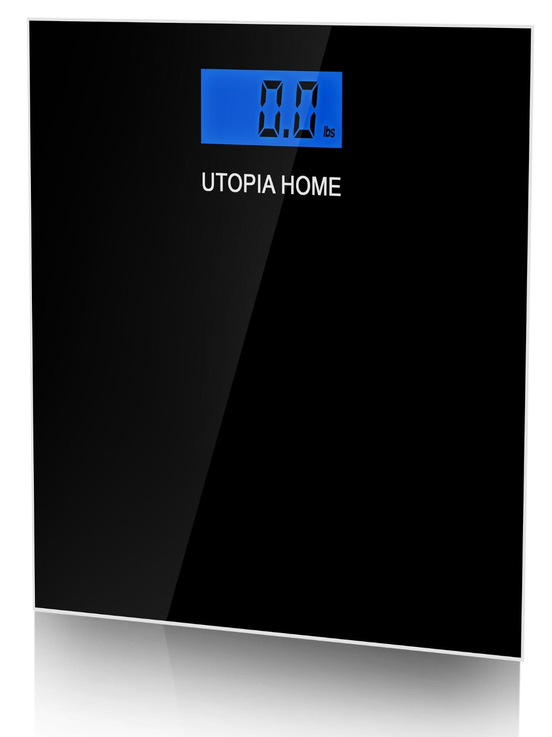 Digital Glass Bathroom Scale - Black