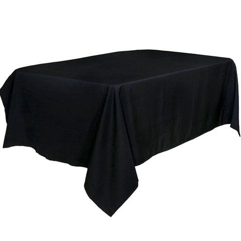 Tablecloth Black 100 Percent Polyester