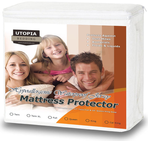 Jersey Fitted Mattress Protector
