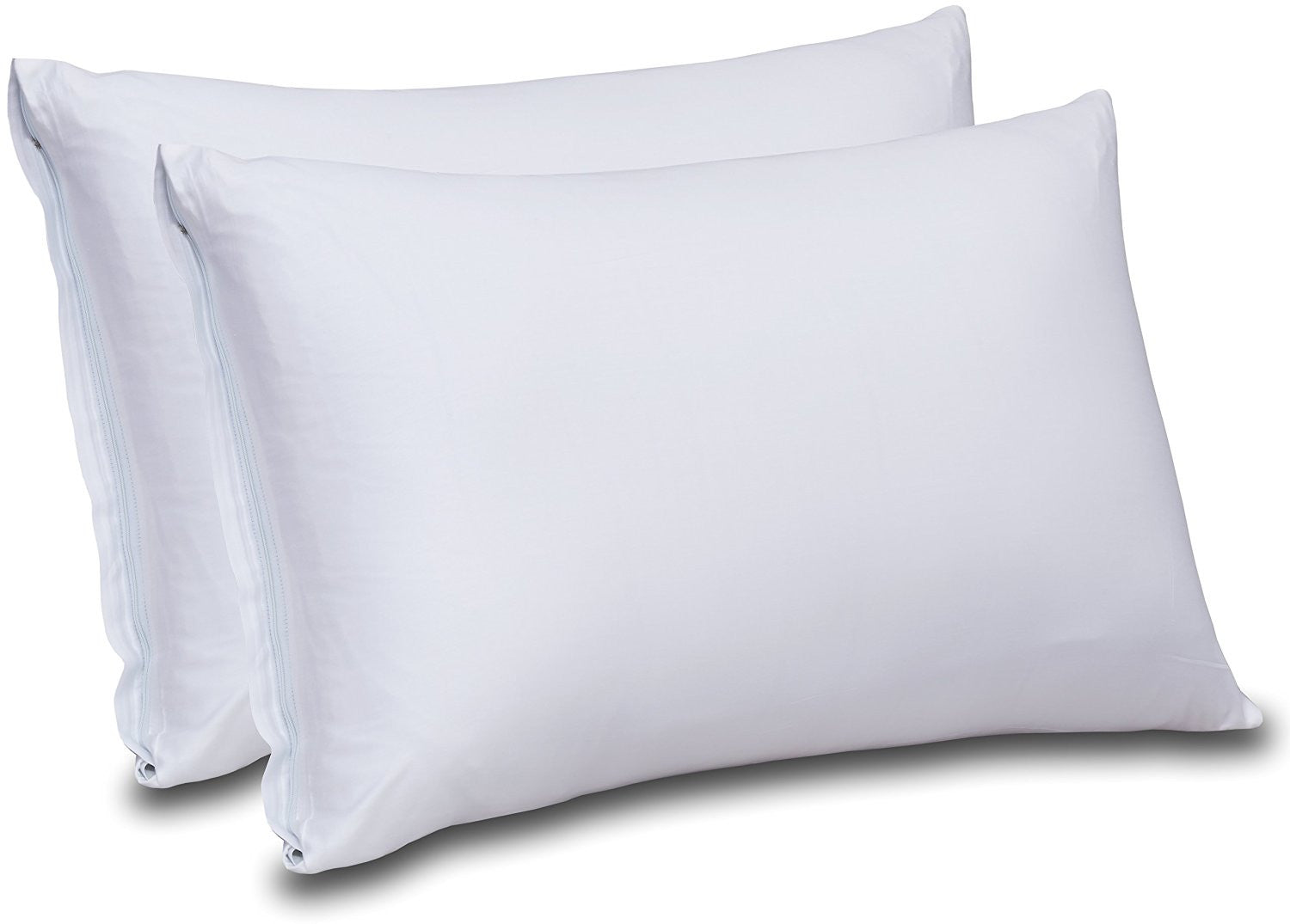 Cotton Sateen Pillow Cases(White)