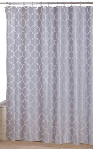 Shower Curtain 72 by 72 inch - Grey