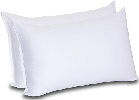 Cotton Zippered Pillow Cases