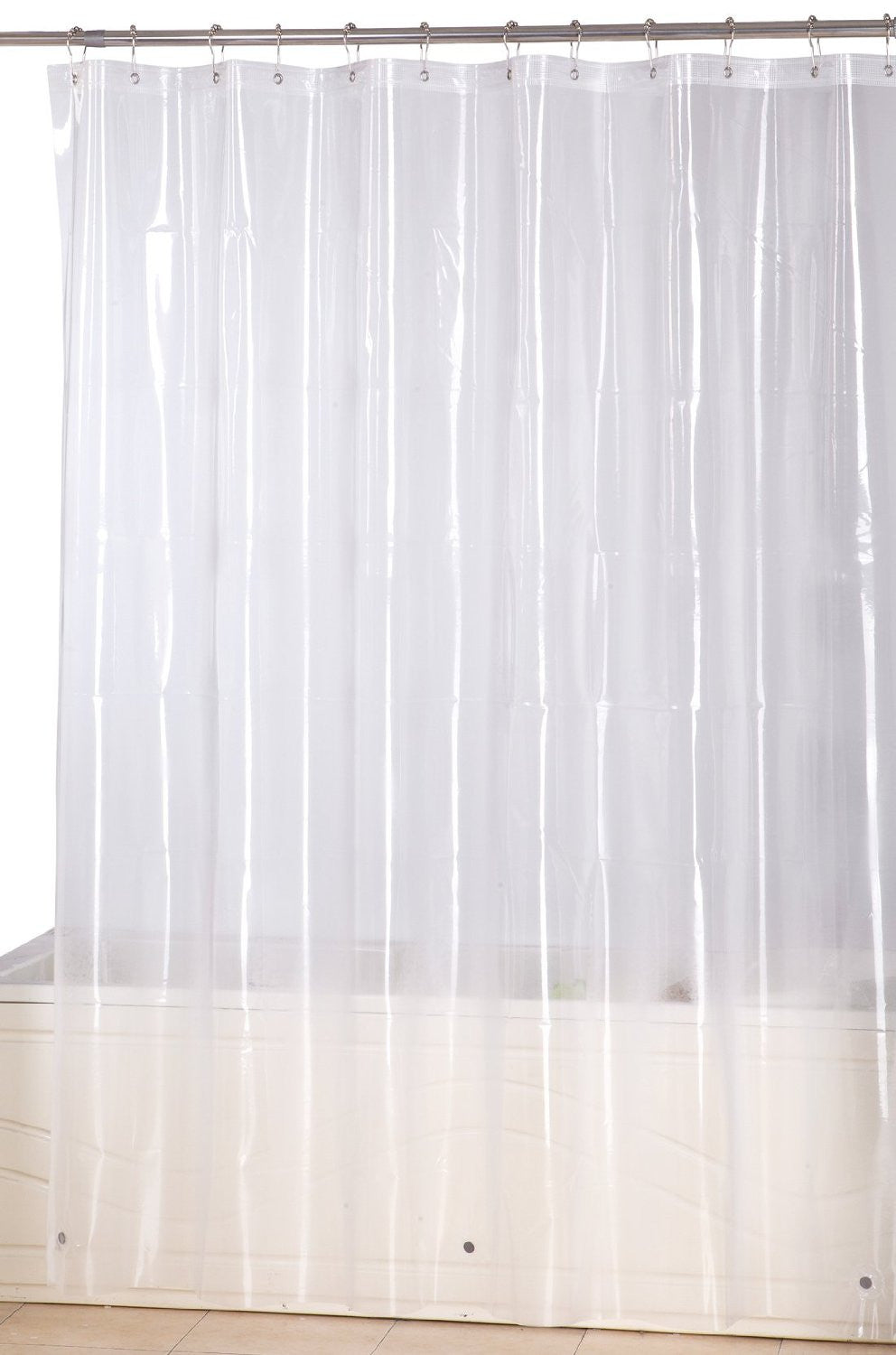 Shower Curtain 72 by 72 inch - Clear