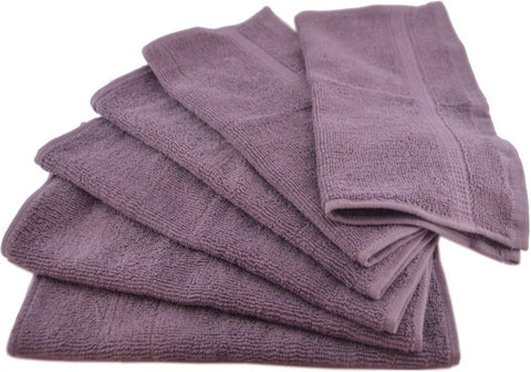 100% Cotton Washcloths (12-Pack)