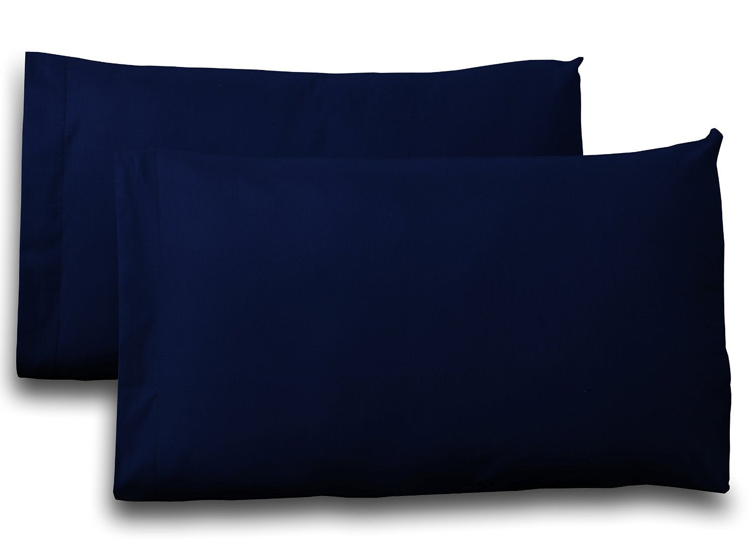 Cotton Pillow Cases (Navy)