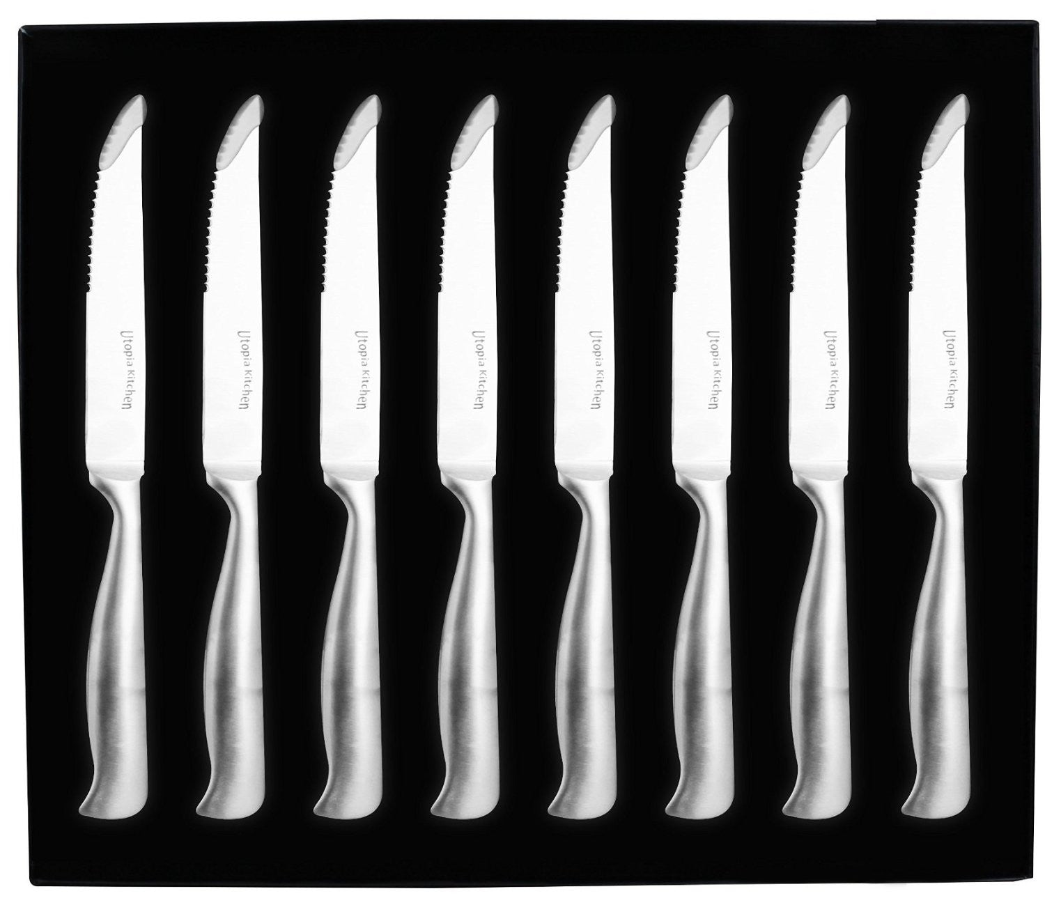 8 Pieces Stainless-Steel Steak Knife