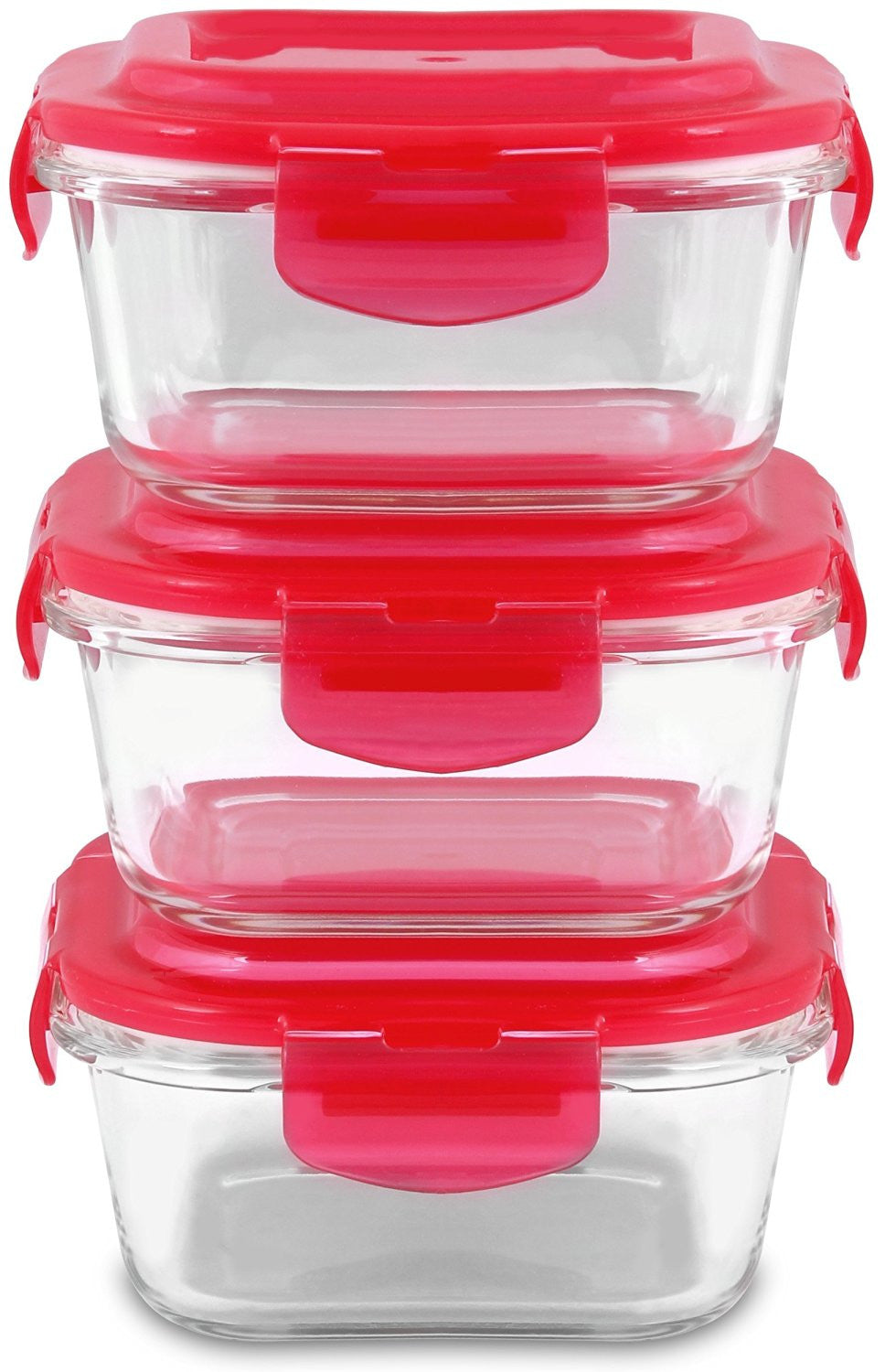 Glass Food Storage Container Set