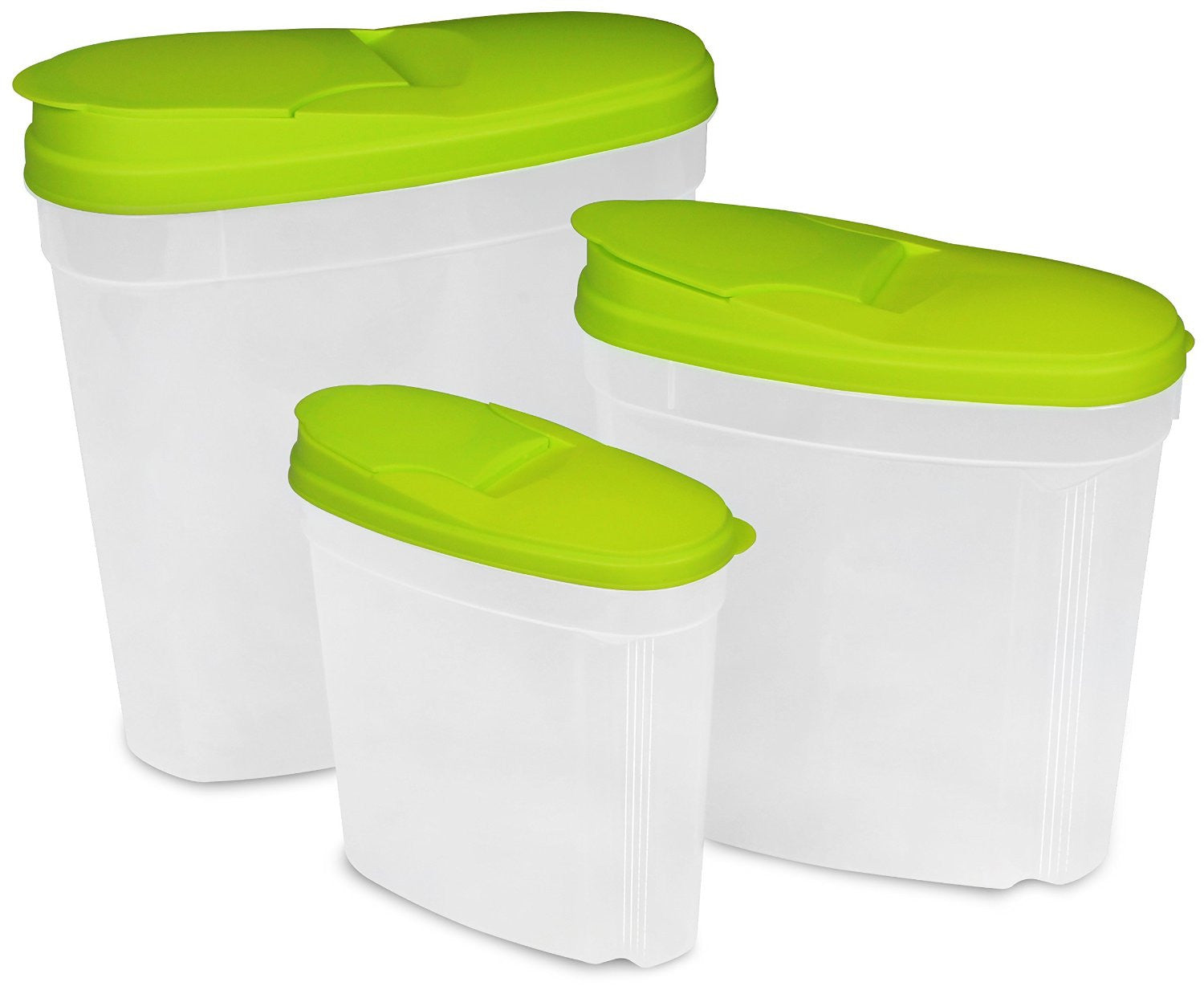 Food Storage Container (Green, 3-Pack)