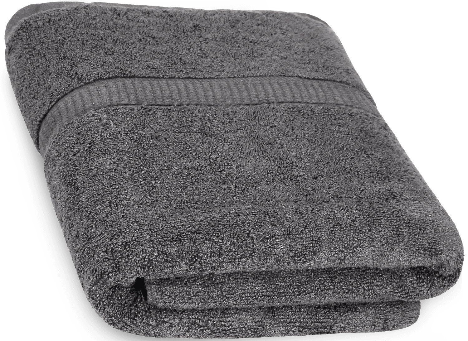Luxury Bath Sheet Towel (Grey; 35 x 70 Inch)