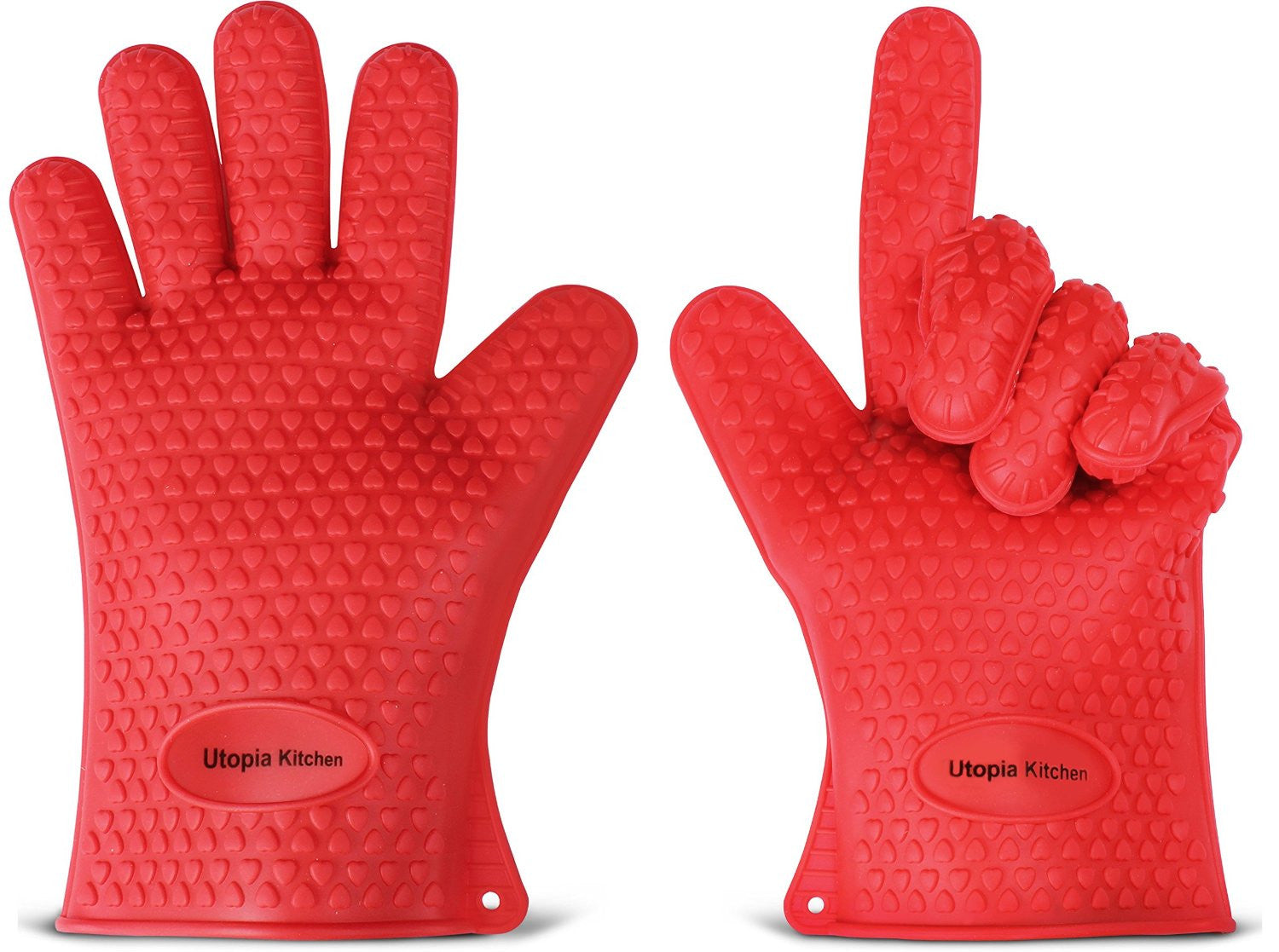 Heat Resistant Silicon Gloves