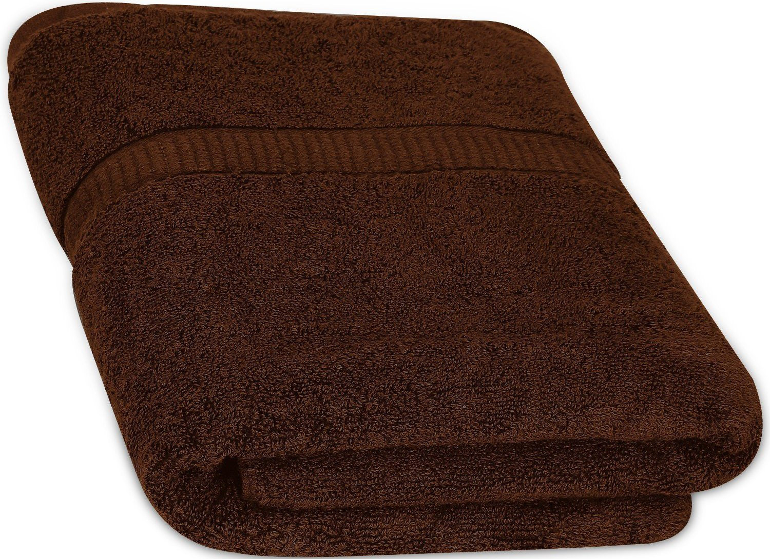 Cotton Luxury Bath Towel - Dark Brown