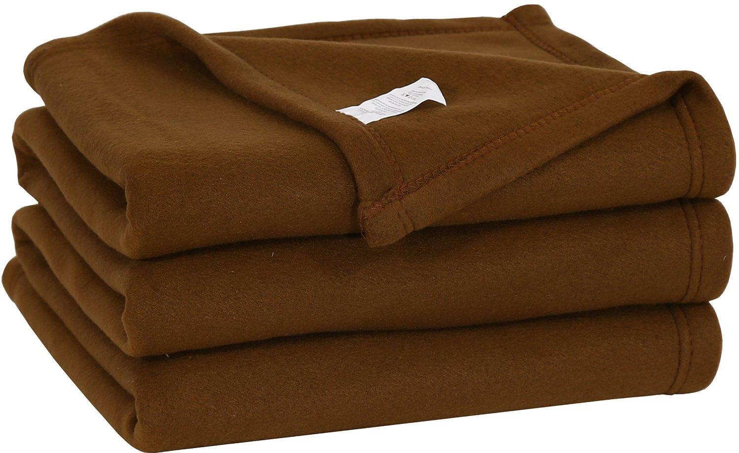 Polar Fleece Throw Blanket (Choc)