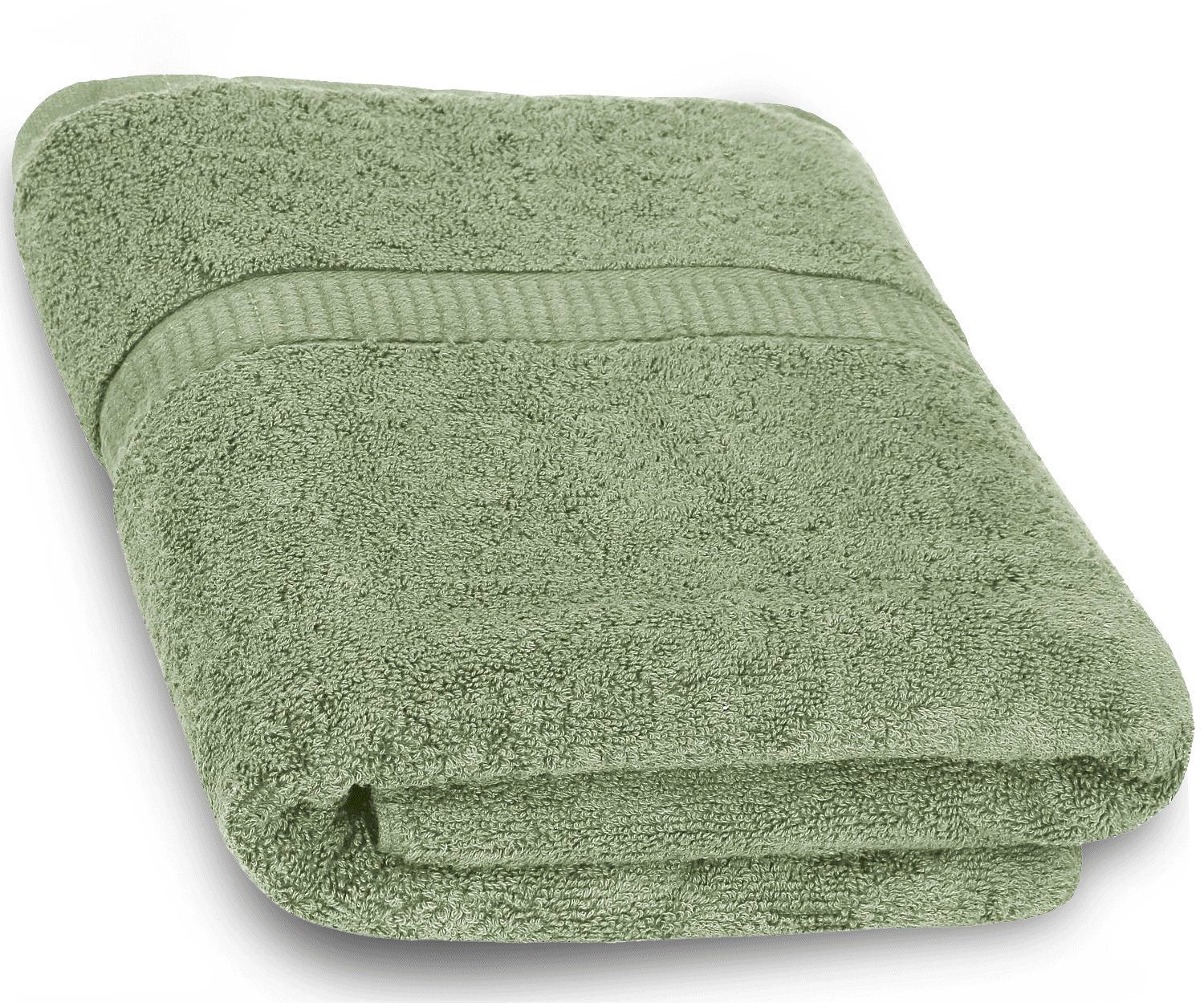 Cotton Luxury Bath Towel - Sage Green