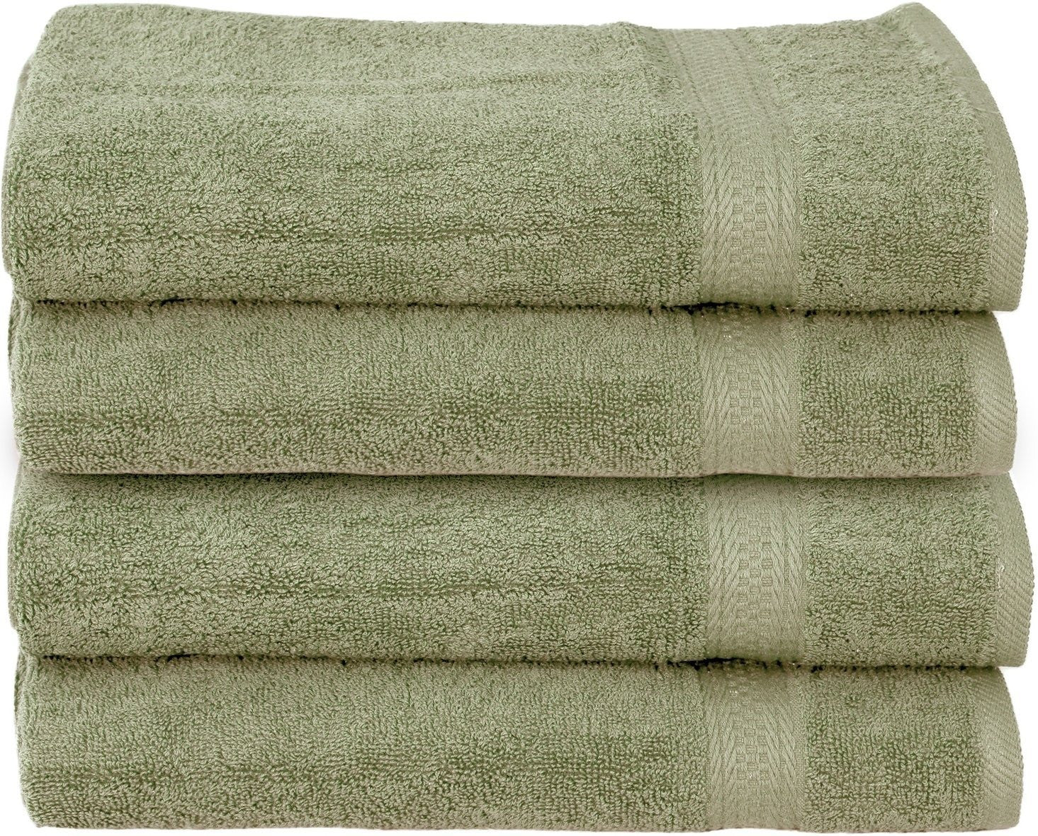 Luxury Hand Towels (Sage Green-4 Pack)