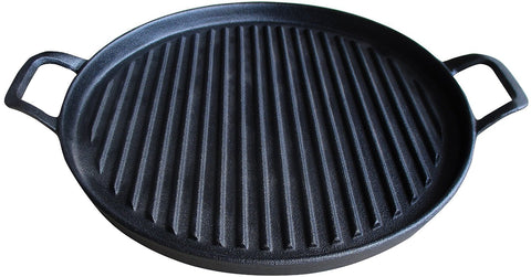 Cast Iron Griddle Pizza Pan 12 Inch
