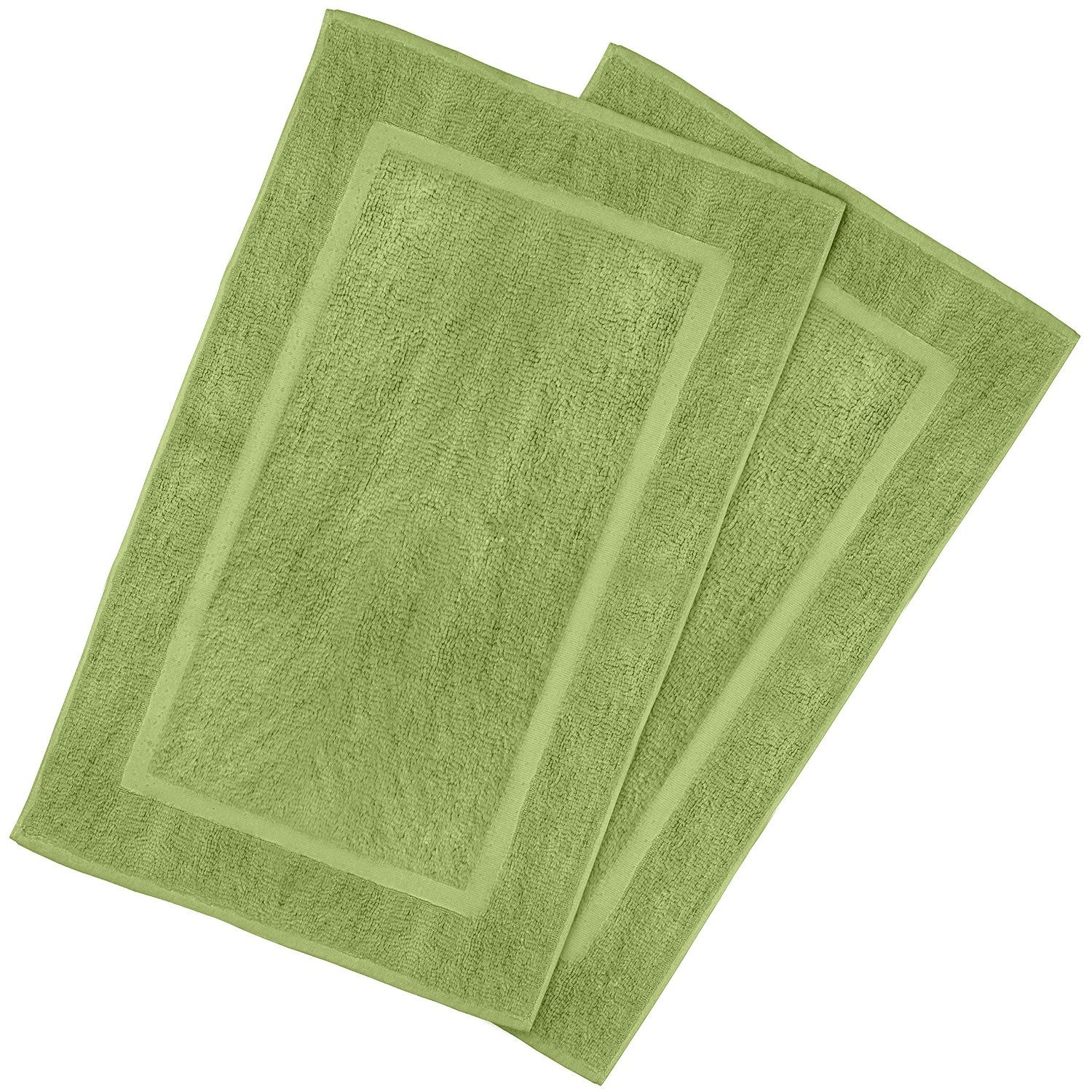 Luxury Bath Mat (Sage Green-2 Pack)
