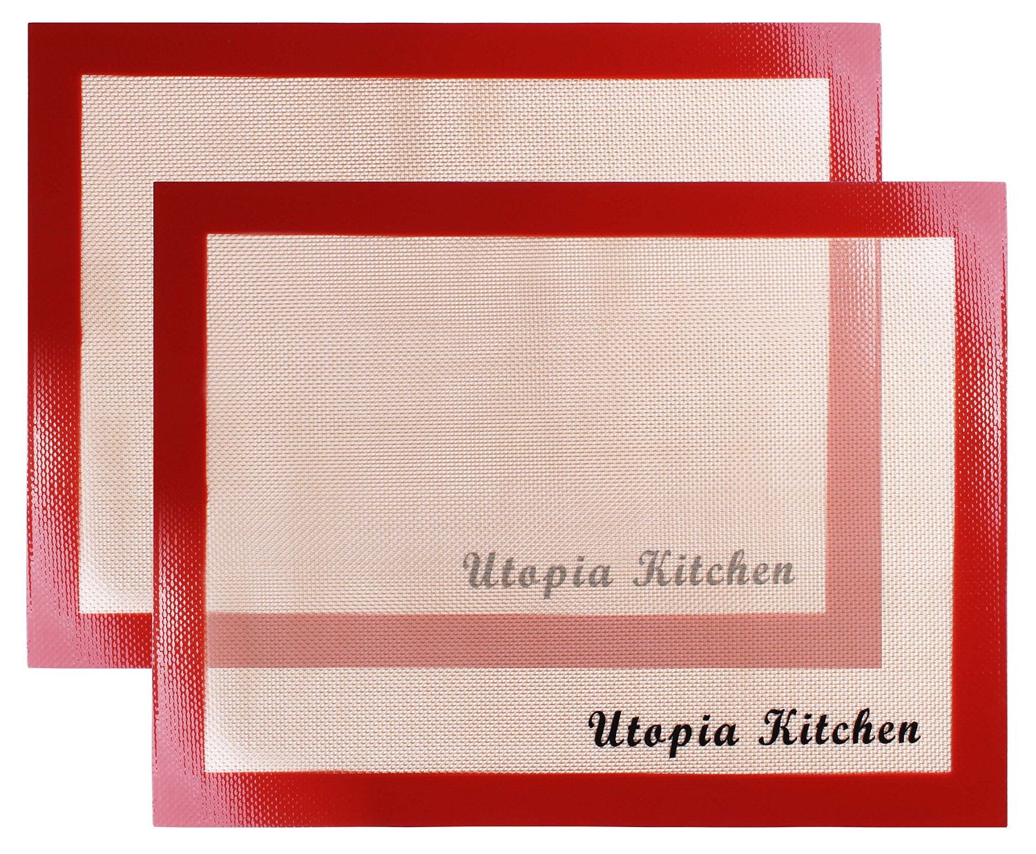 Silicon Mat for Baking and Cooking - Red