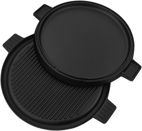 Cast Iron Reversible Round Griddle/Grill