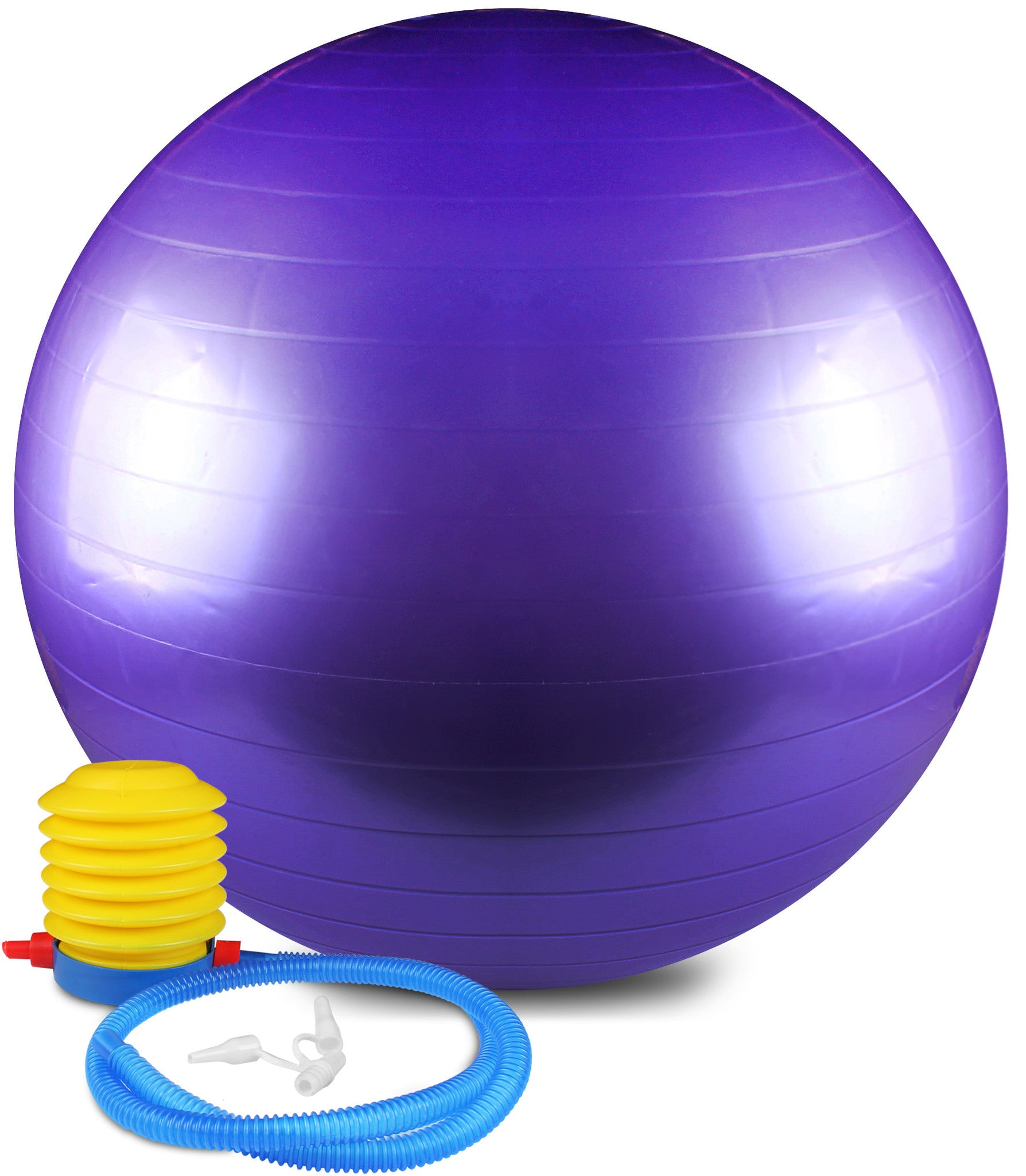 Anti Burst and Slip Resistant Yoga Ball (75cm)