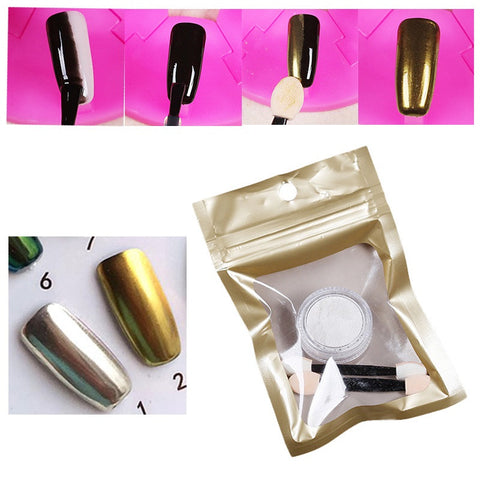 Chrome Mirror Powder for Nails