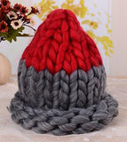 Knitted Wool/Cotton Beanie