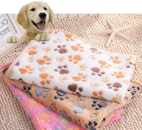 Double Sided Fleece Pet Blanket