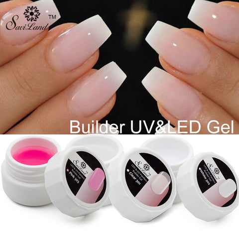Clear UV Builder Gel