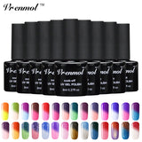Temperature Color Changing Gel Nail Polish