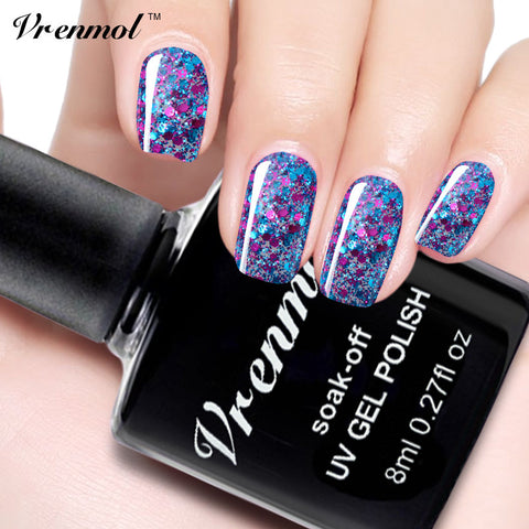 Diamond Glitter Gel Nail Polish