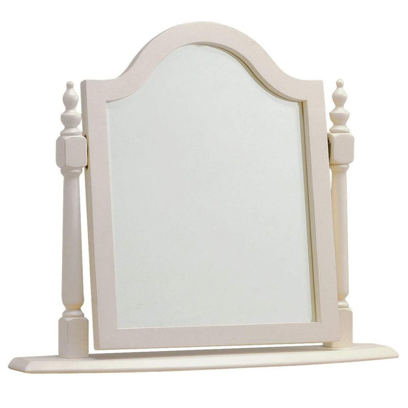Barlestone Grey Painted Oak Dressing Table Swing Mirror - Oak Village