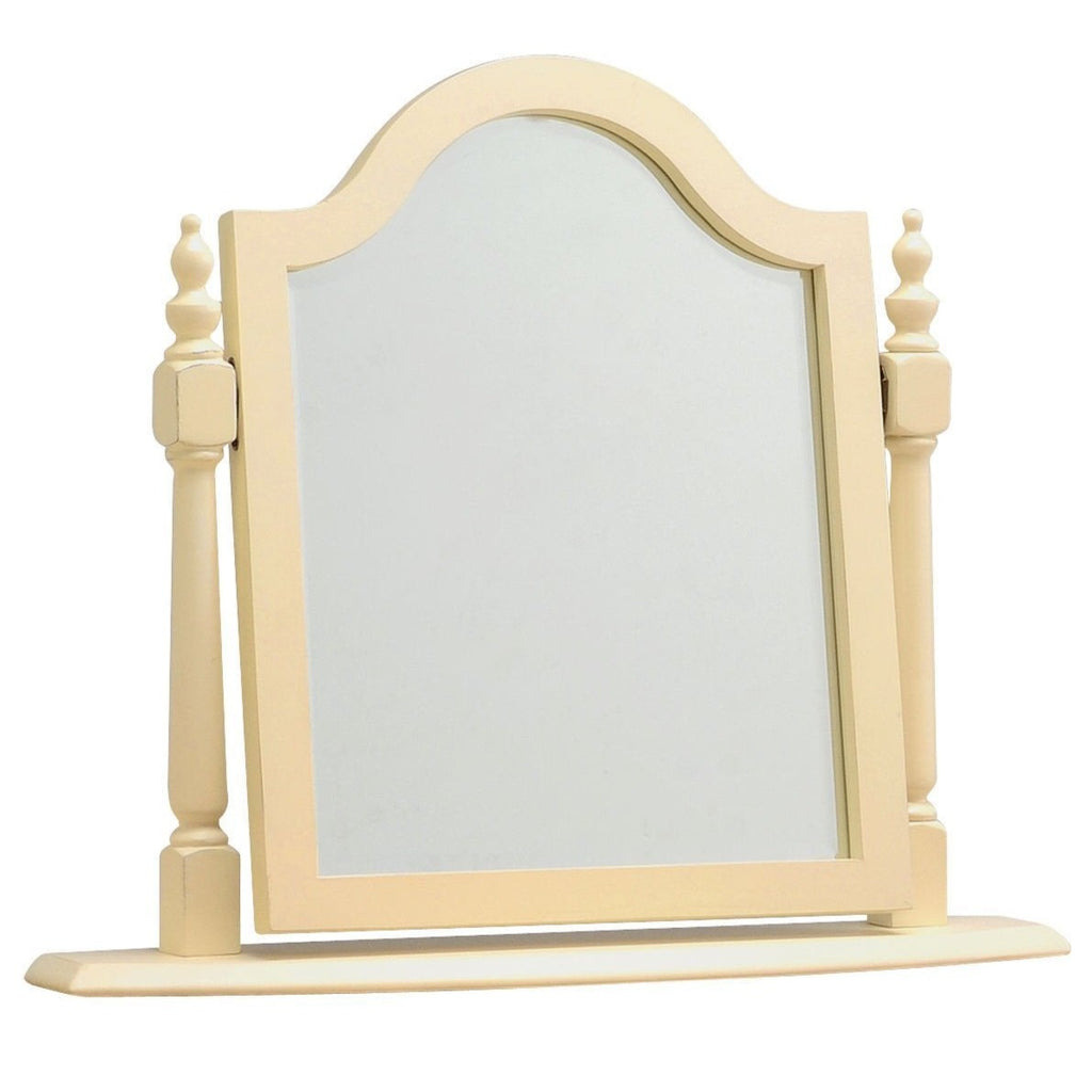 Dorchester Cream Painted Swing Mirror - Oak Village