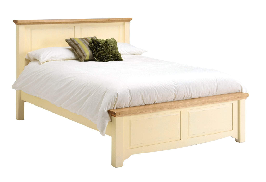 Dorchester Painted Oak Bedstead - Oak Village