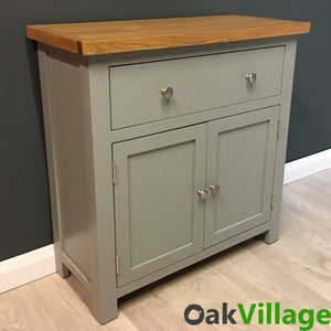 Greymore Painted Oak Mini Sideboard - Oak Village
