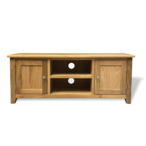 Harvard Large Oak TV Unit - Oak Village