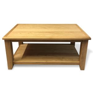 Harvard Oak Coffee Table - Oak Village