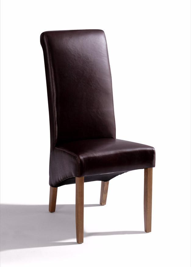 LEATHER CHAIR - Oak Village