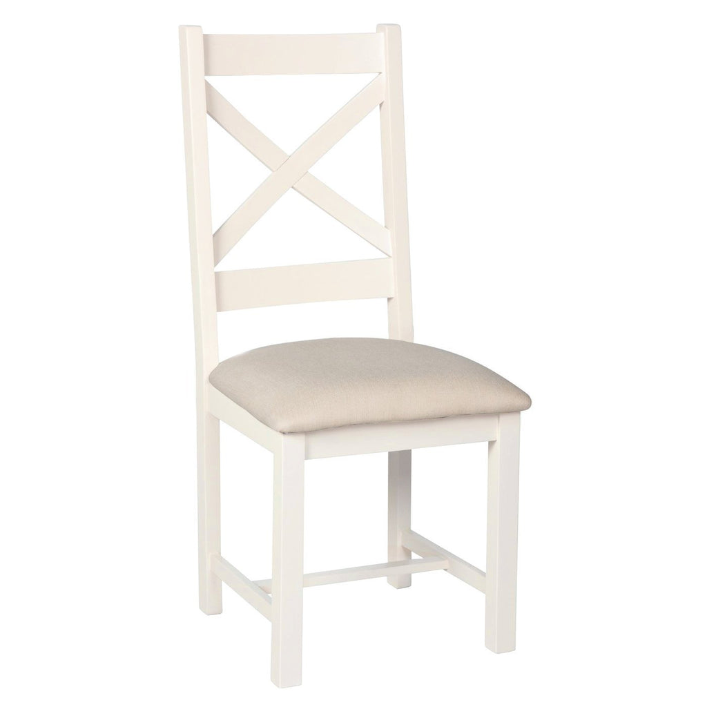 Millbrook Cream Painted Dining Chair - Oak Village