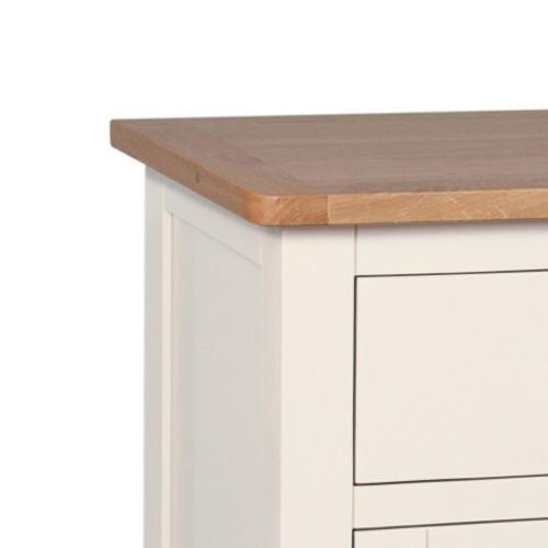 Millbrook Cream Painted Oak Small Sideboard - Oak Village