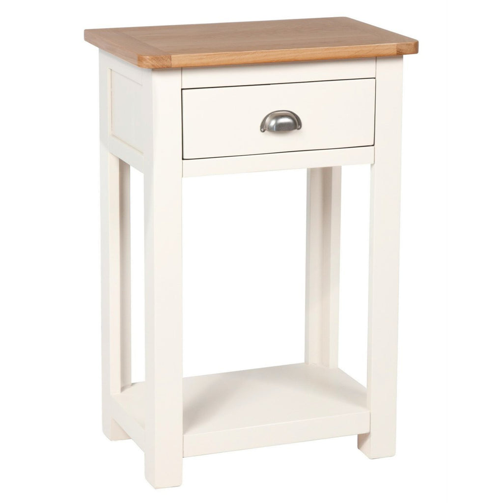 Millbrook Cream Painted Small Console Table - Oak Village
