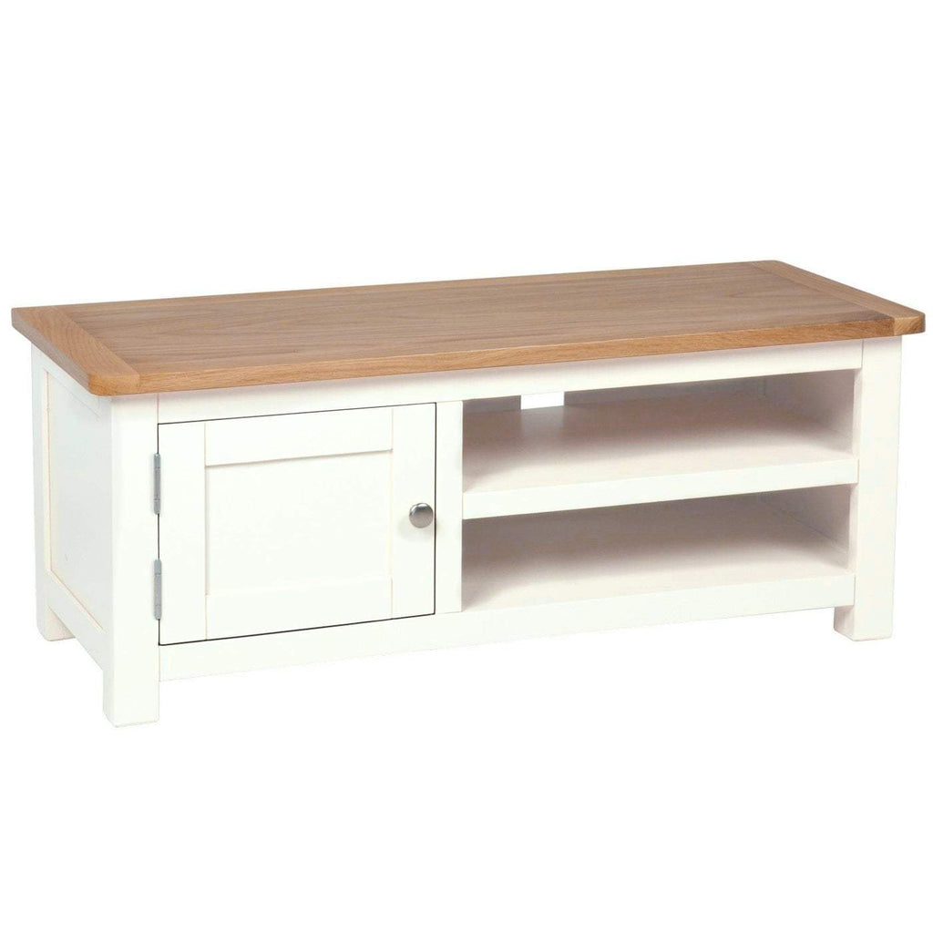 Millbrook Cream Painted Small TV Unit - Oak Village