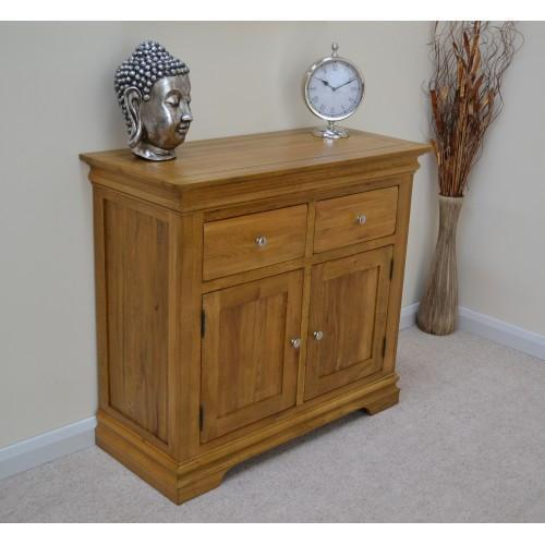 Normandy Farmhouse 2 Door Sideboard - Oak Village
