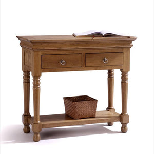 Normandy Farmhouse Console Table - Oak Village